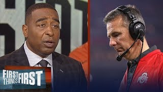 Cris and Nick on Ohio State suspending Urban Meyer for 3 games   CFB   FIRST THINGS FIRST