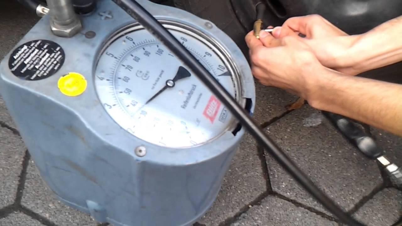 Reifendruck Prüfen Tankstelle