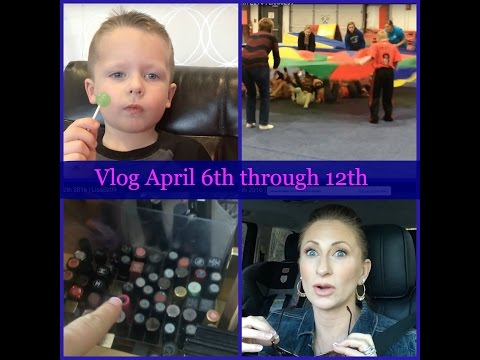 Hair Cuts | Birthday Party | Field Trip | Stella and Dot meeting | April 6th - 12th 2016 | LisaSz09