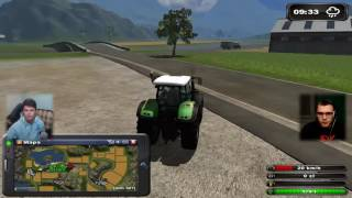 No pięknie tu robota idzie! :D - Symulator farmy 2011 WSPOMNIENIA #11