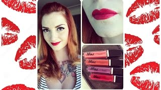City Lips Minx Longwear Matte Lipstick Review by CHERRY DOLLFACE Thumbnail