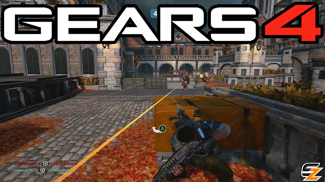 Gears of War 4 Multiplayer Gameplay - Dodgeball New Game Mode! (Xbox One  Gears 4 Beta)