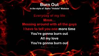Burn Out - ProTrax Karaoke Demo