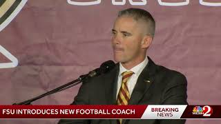 FSU introduces Mike Norvell as head coach