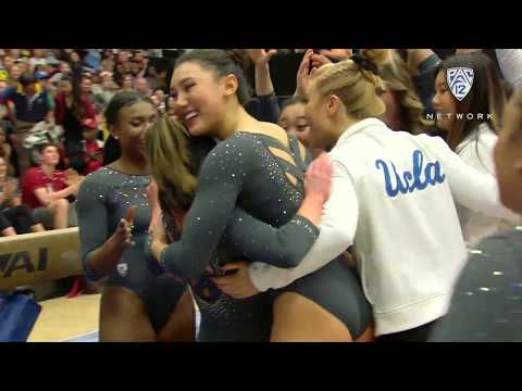 Recap: UCLA Gymnastics Defeats Stanford in Front of Record Crowd