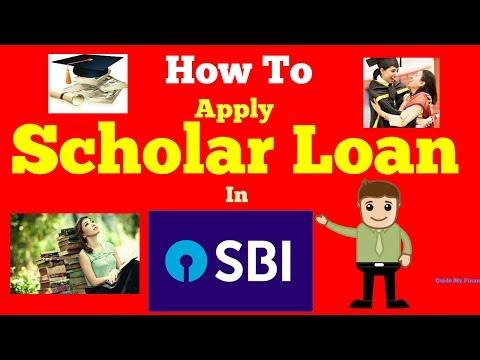 How to Apply SBI Scholar Loan | Complete Guide on SBI Scholar Loan - YouTube