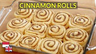 100% Sukses! Resep Cinnamon Roll Resep Roti Kayu Manis, Bisa Ulen Tangan