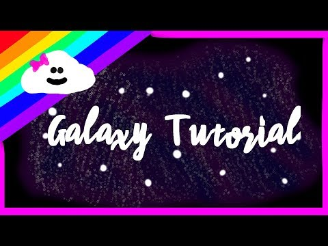 How to draw a galaxy with FireAlpaca (Tutorial) - YouTube