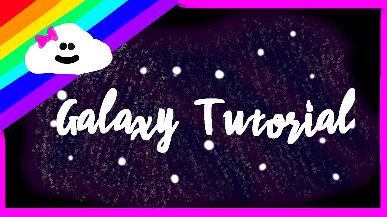 How to draw a galaxy with FireAlpaca (Tutorial)