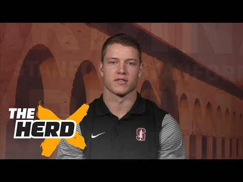 Christian McCaffrey talks Heisman and 2016 Stanford Football | THE HERD (FULL INTERVIEW)