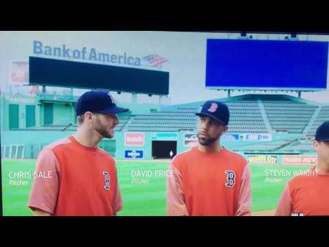 """Boston Red Sox Price , Sale & Wright Ice Cream Commercial A """"who's On First""""  Take MLB Funny B Of A"""