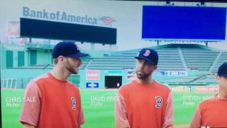 "Boston Red Sox Price , Sale & Wright Ice Cream commercial a ""who's on first""  take MLB Funny B of A"