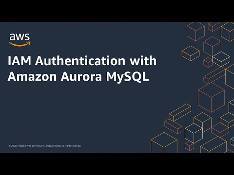 IAM Authentication with Amazon Aurora MySQL