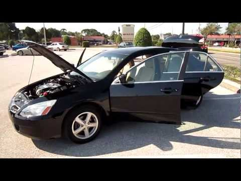 SOLD 2003 Honda Accord EX I-VTEC 99K Miles Meticulous Motors Inc Florida
