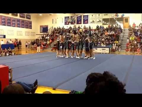 Woodgrove High School Cheerladers- Purcellville, VA- Park View Spiritfest Cheerleading Competition