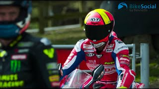 Xavi Fores rides Cadwell Park for the first time! | BSB 2019