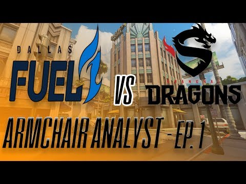 HOW WERE THE SHANGHAI DRAGONS ABLE TO WIN A MAP AGAINST DALLAS FUEL? (ARMCHAIR ANALYST Ep. 1)