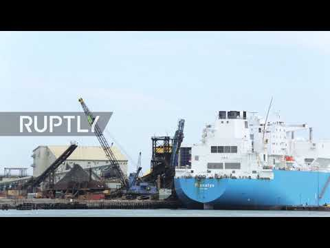 USA: Second batch of Russian gas arrives in Boston harbour