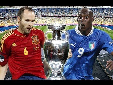 España vs Italia/Spain vs Italy 1-1 / Eurocopa 2012