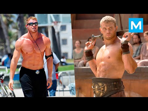 Kellan Lutz Workout for Hercules  Muscle Madness