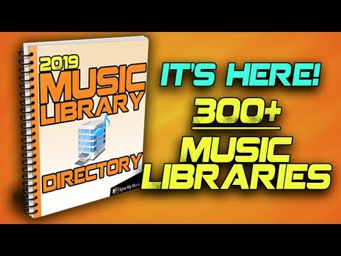 2019 Music Library Directory NOW AVAILABLE!