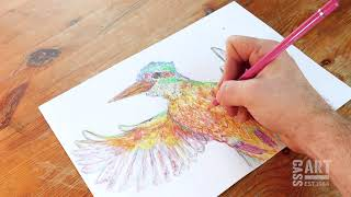 How to with Cass Art: Colouring Pencils