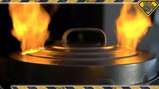 Make A Trash Can Metal Foundry | How To Make A Metal Foundry For Melting Brass And Other Metals