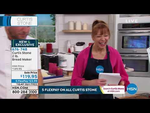 Curtis Stone 2lb Bread Maker