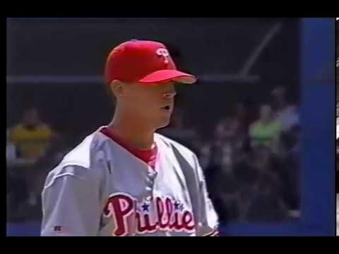 1998 Phillies at Pittsburgh   Carlton Loewer vs Esteban Loaiza