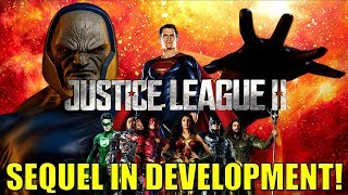 JUSTICE LEAGUE SEQUEL in Development!?