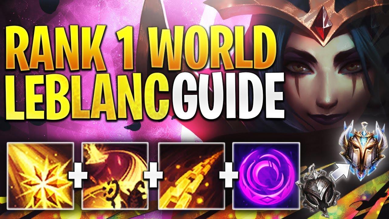 Leblanc Build Guide Season 11 Bobqinxd S Challenger Leblanc Guide League Of Legends Strategy Builds