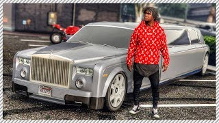 REAL LIFE MOD #42 - *NEW JOB* Uber Driver Luxury Rolls Royce Phantom Limo