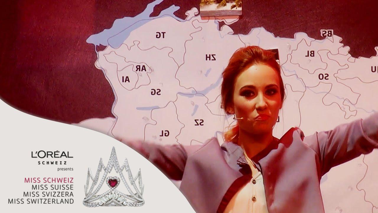 Miss Schweiz Wahl 2015 | Aufgabe für die drei Finalistinnen | SAT.1 Schweiz