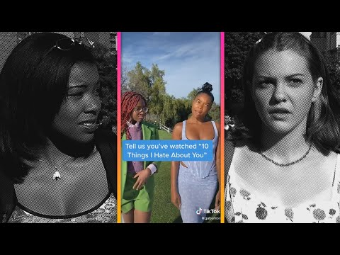 Gabrielle Union and Zaya Wade Recreate Iconic 10 Things I Hate About You Scene on TikTok