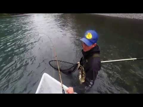 Fishing For Salmon On The Hoh River 11 05 2019