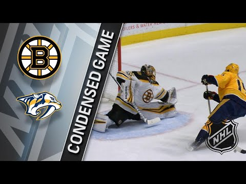12/04/17 Condensed Game: Bruins @ Predators