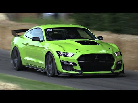 NEW 2020 Ford Mustang Shelby GT500 LOUD Exhaust Sounds | Launch Control, Burnouts & Driving FLAT-OUT
