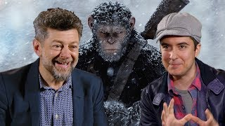 Andy Serkis on the future of CG actors (War for the Planet of the Apes / Interview)