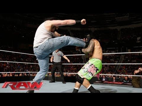 John Cena & The Usos Vs. The Wyatt Family: Raw, May 12, 2014