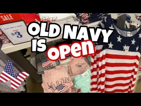 Old Navy Shopping Summer 2020