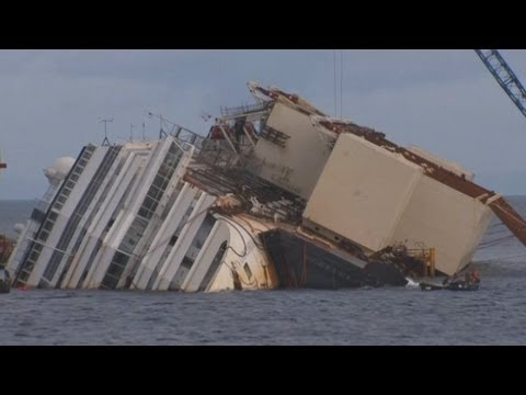 Costa Concordia: Countdown to salvage stricken ship