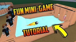 HOW TO MAKE A FUN MINIGAME! With Ice Wood! Roblox Lumber Tycoon 2