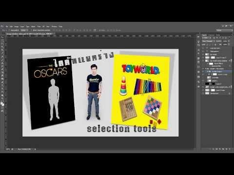 โฟโต้ชอป cs6 : 40 เทคนิคน่ารู้ #10 เทคนิคการไดคัทภาพ - selection tools