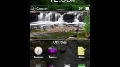 Blackberry 6.1 iPhone theme