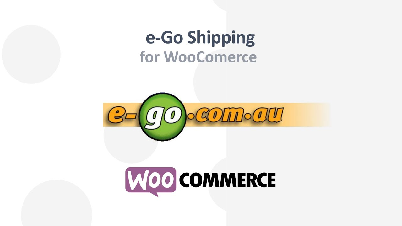 E-Go Courier for WooCommerce