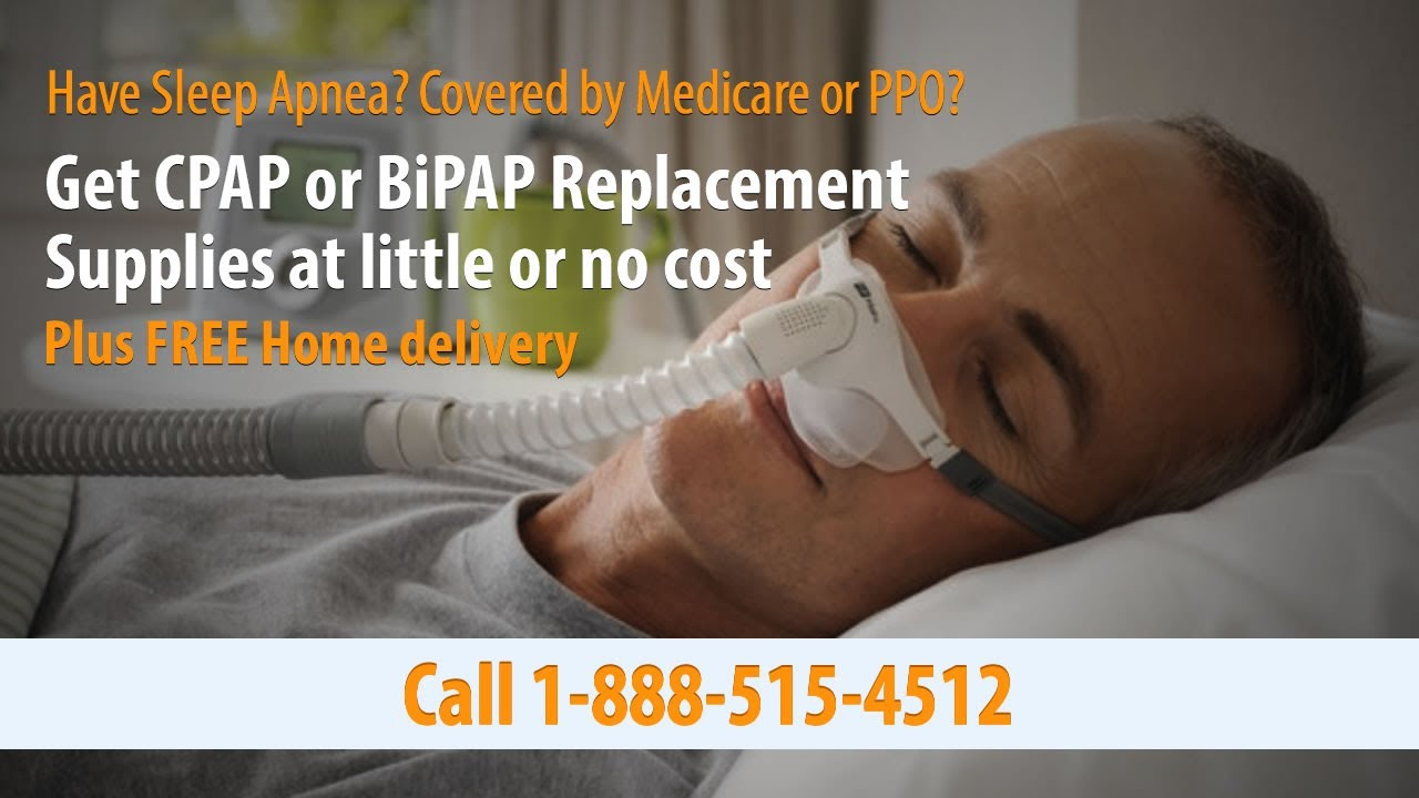 Get CPAP Supplies at No Cost