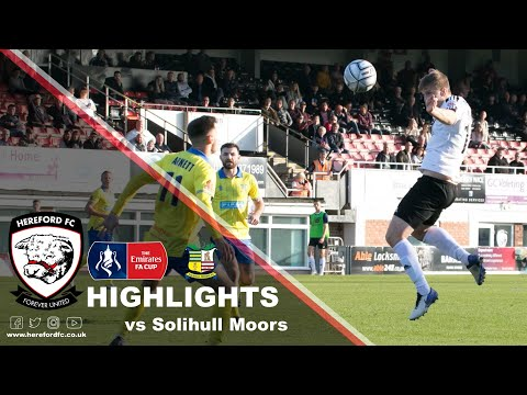 Hereford Solihull Goals And Highlights