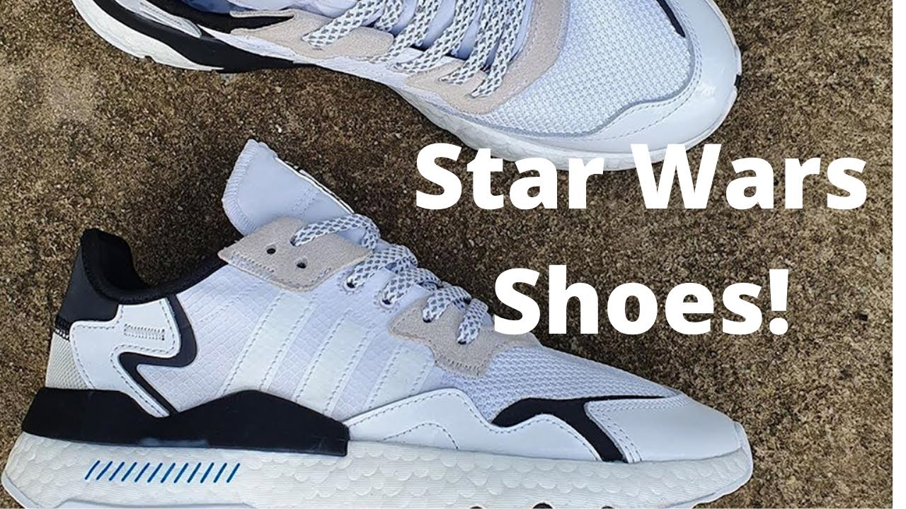 Adidas X Star Wars Stormtrooper Shoes!   Unboxing and On Feet Review