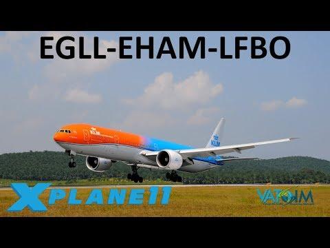 X-Plane 11   BSS Sound Pack Giveaway & Q&A!!   B777   VATSIM   London,  Amsterdam & Toulouse!!
