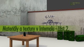 003 Blender tutorial - Materialy a textury v Internalu - část 2. CZ